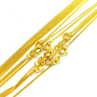 42996 xuping jewels cheap dubai 24K gold beads necklace chains