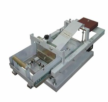 Manual Curved Surface Screen Printing Machinery for Bottle Printing