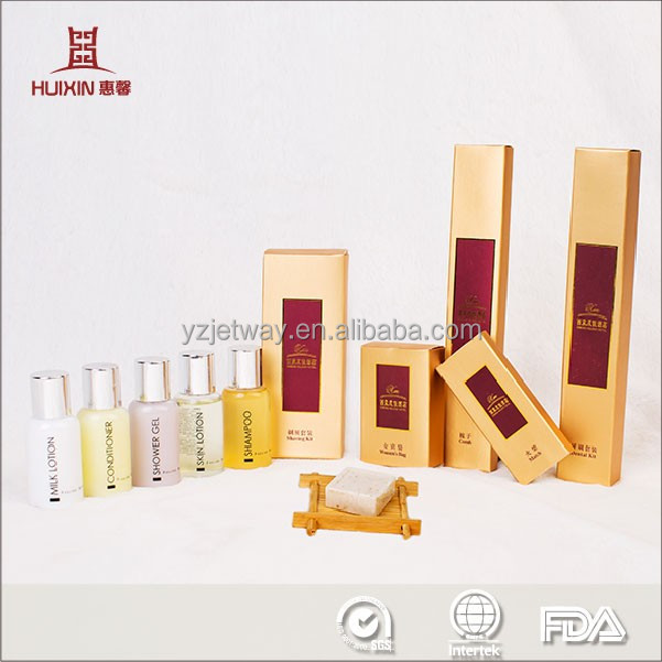 Hot selling superior quality hotel toiletries, luxury hotel amenities