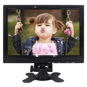 10 inch small size ultra wide monitor with av input for car