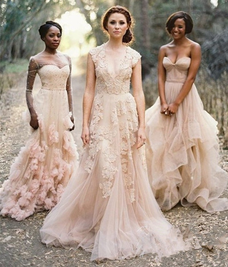 Aliexpress.com : Buy Vintage V Neck Lace Wedding Dresses