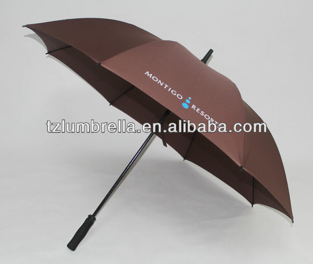 Automatic Opening Windproof GOLF Umbrell With Eight Overlapping Vents