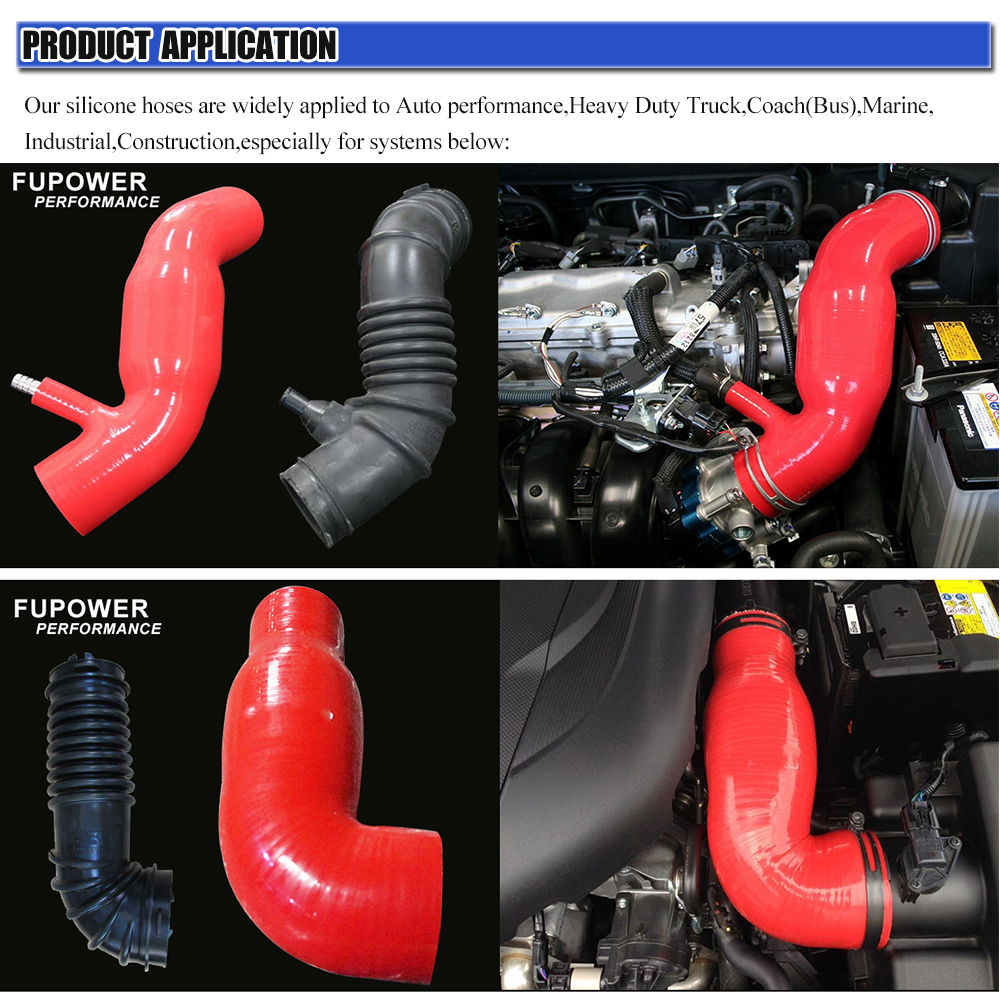 SILICONE RADIATOR COOLING HOSE KIT FIT JAGUAR XJS V12 81-96