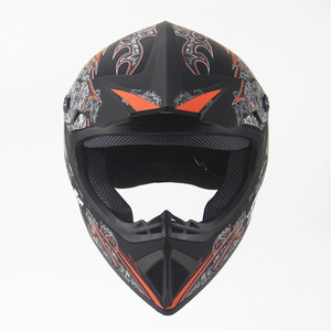 Dot approved graffito style ABS material safety use half face motorcycle motorbike helmet
