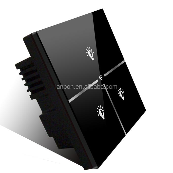 neue lanbon smart home wifi lichtschalter fernbedienung. Black Bedroom Furniture Sets. Home Design Ideas