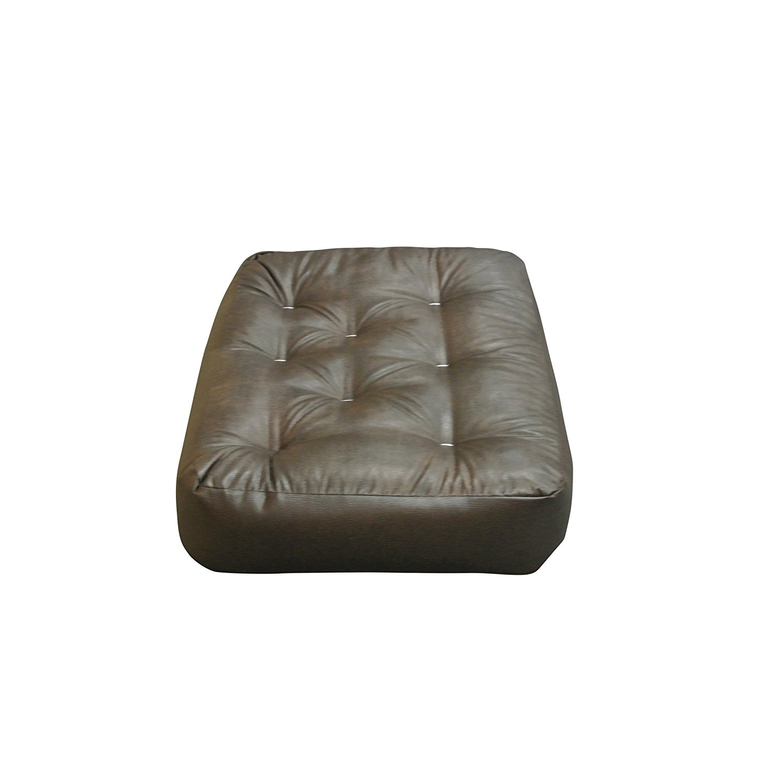 MyEasyShopping Single Foam/Cotton/Leather 21-inch x 28-inch x 8-inch Chair Ottoman Futon Mattress Futon Mattress Otis Bed Foam