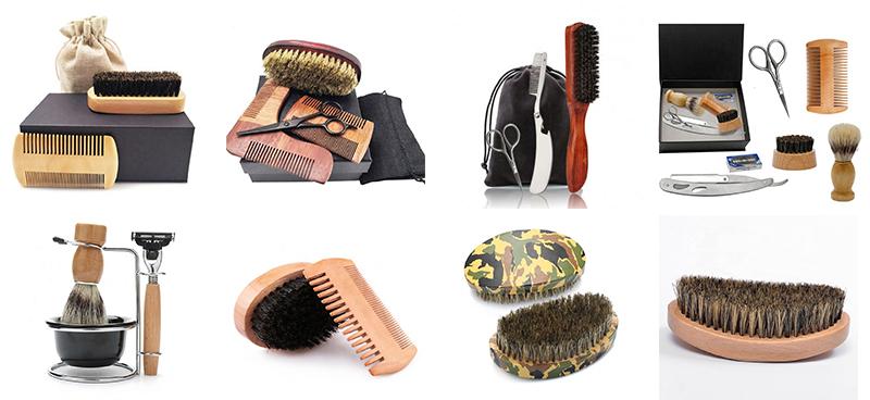 Latest arrival german quality beard buddy sandalwood beard kit box