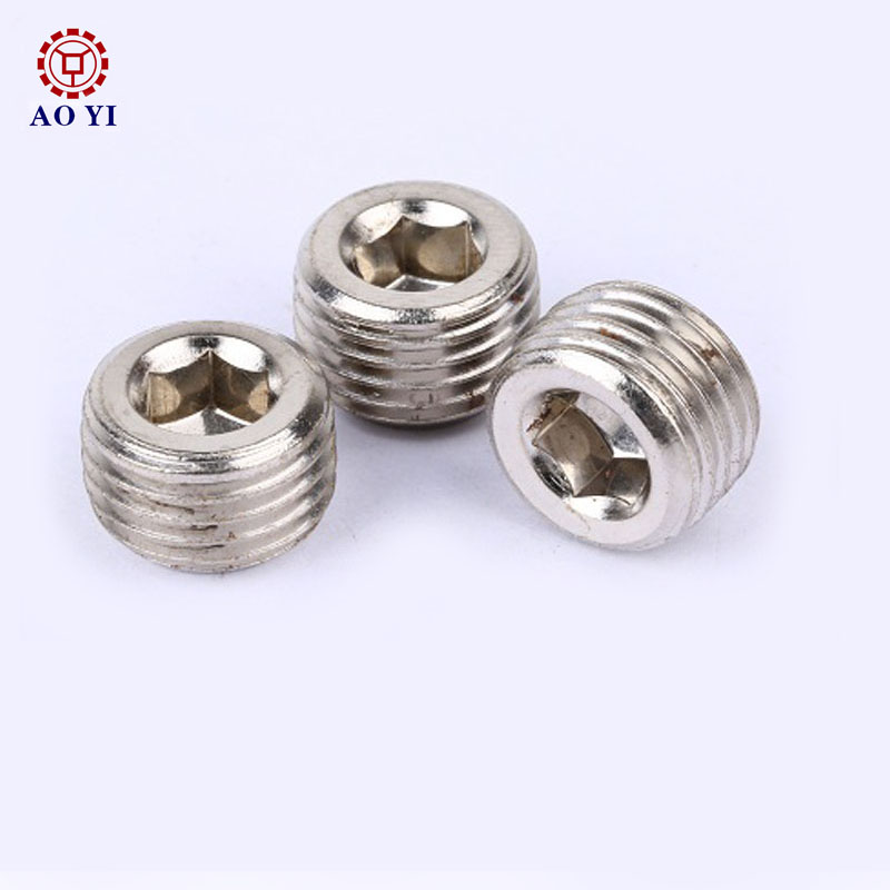 Top quality hex socket hollow screw
