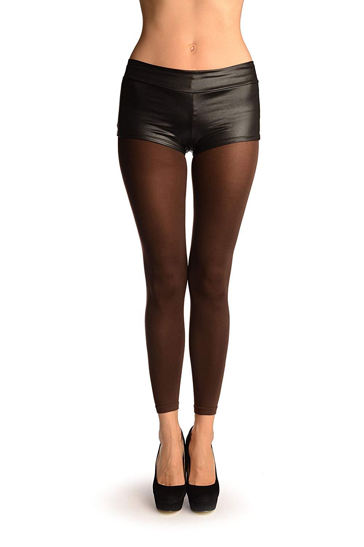 f17a4f18c Get Quotations · Brown 120 Denier (Winter) Footless Pantyhose (Tights) -  Brown Pantyhose (Tights