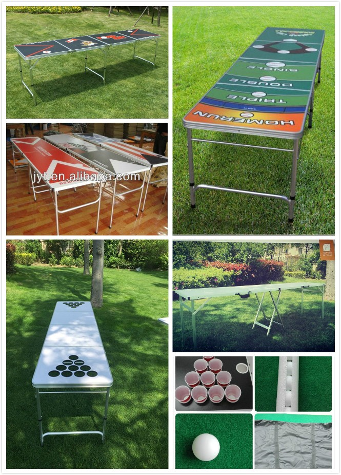 8ft icy beer pong table for hot season