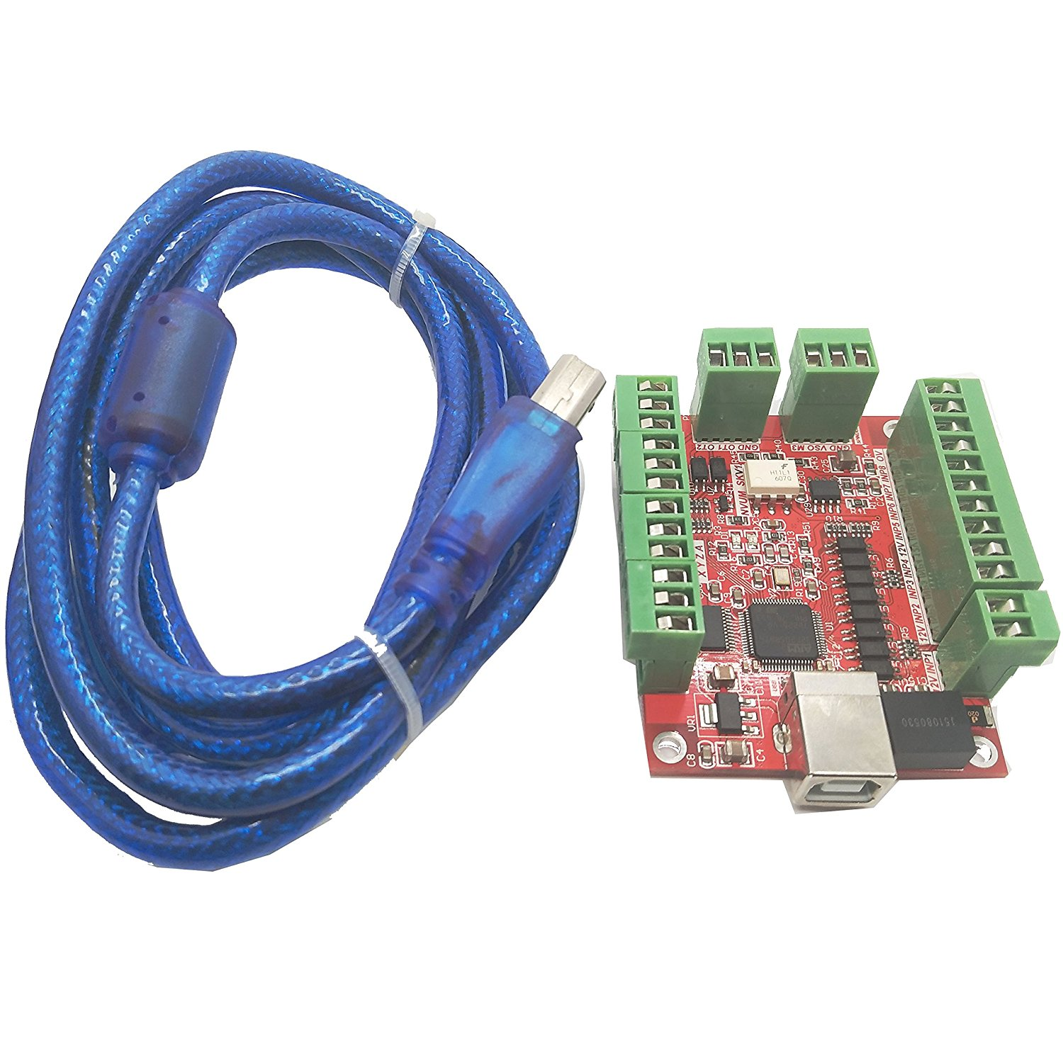 Generic MACH3 USB Interface Board Manual Control Board w/ USB Cable