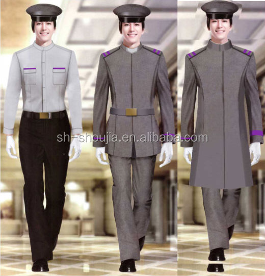 Professionally Customize Design Security Guard Uniform From ...