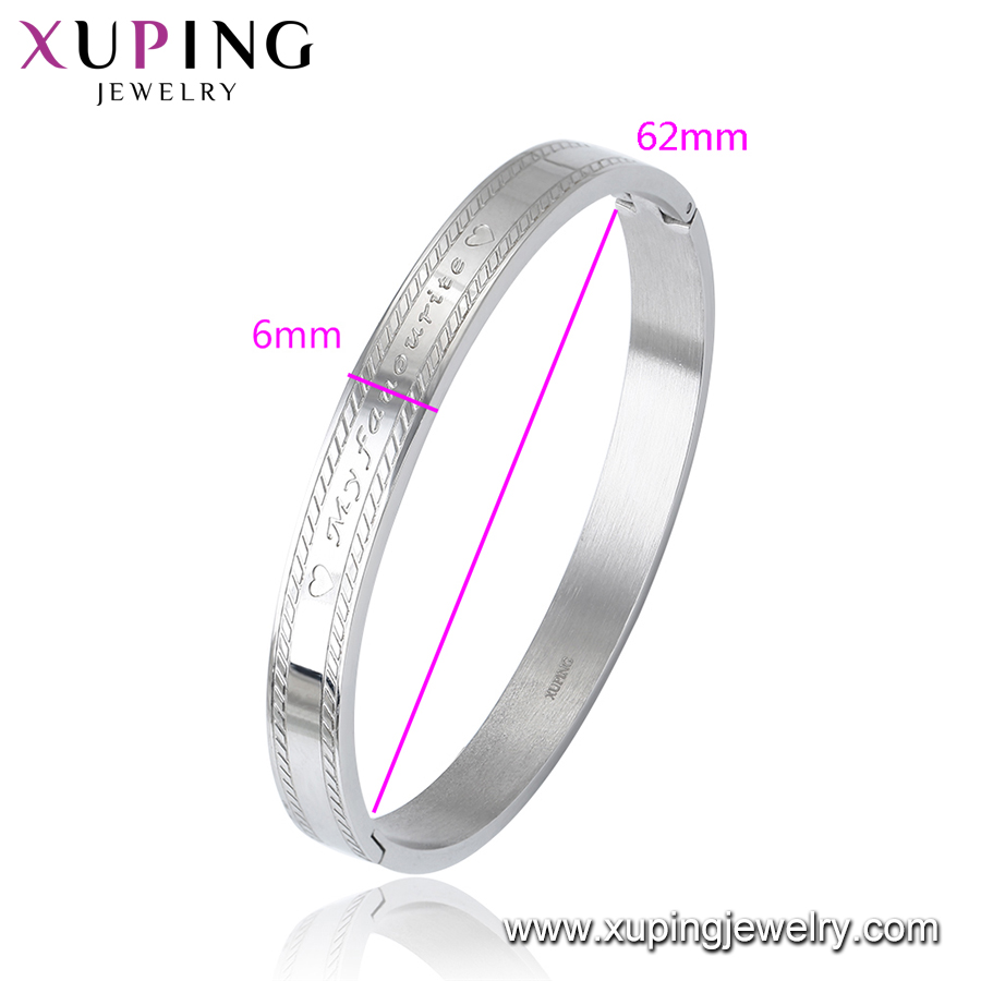 Bangle-545 bangle bracelet, Xuping Jewelry Man Bangle, Fashion Bangle Stainless Steel
