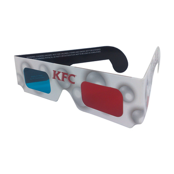 9ef59555ac7 JRD-P3RC Custom Paper Anaglyph 3d Red Blue Film Glasses Red Cyan 3d Glasses