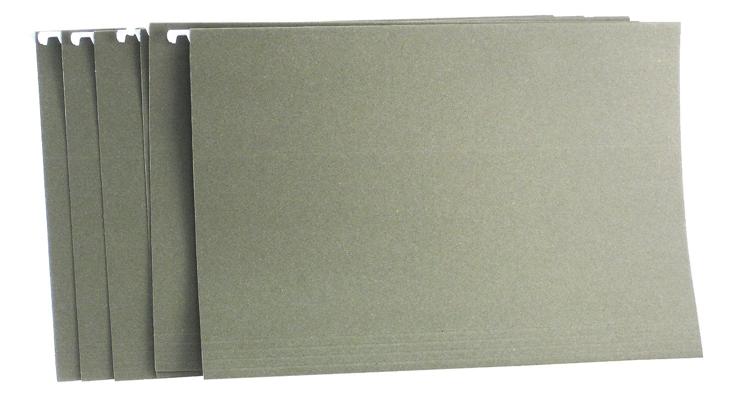 Saunders US-Works Hanging File Folder, Legal Size, 1/5 Cut, Green, Pack of 25 (34742)