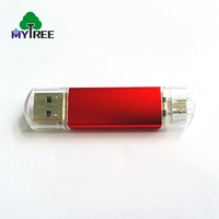 Factory price password metal U disk android OTG custom usb flash drive