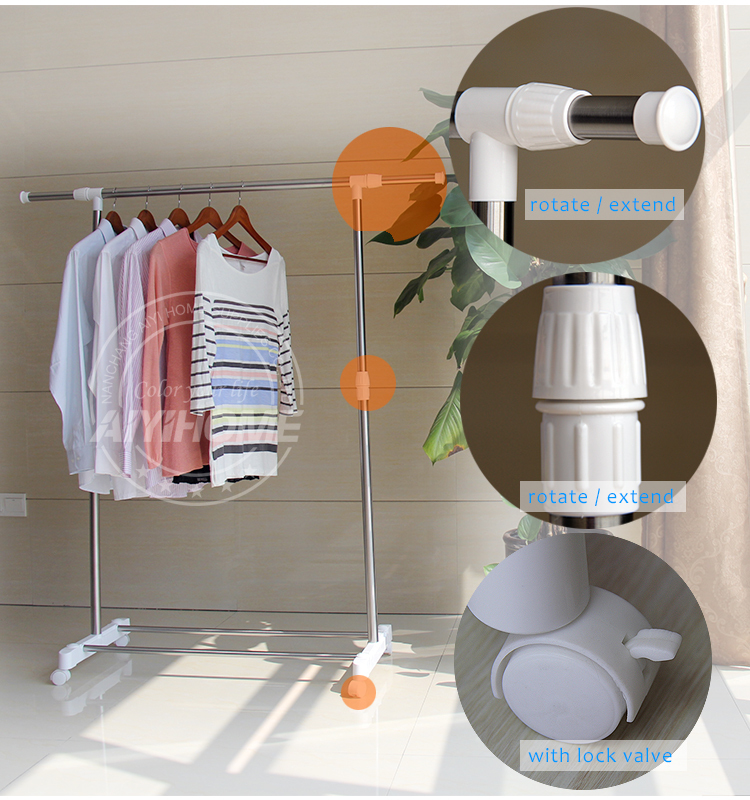 stand coat hanger rack electric vertical heated sliding clothes racks - Clothes Hanger Rack
