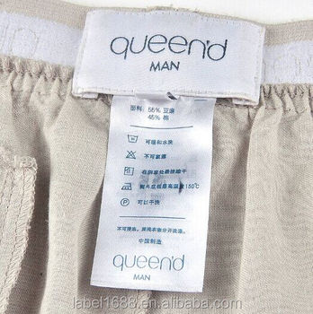 e7ced5815d15 Oem Making Clothing Labels Sew In Fabric Labels Custom Printed Clothing  Label - Buy Sew In Printed Clothing Label,Fabric Labels Custom Printed ...