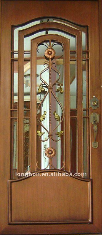 Top venta de hierro puerta de entrada de dise o para el for Puertas de metal con diseno