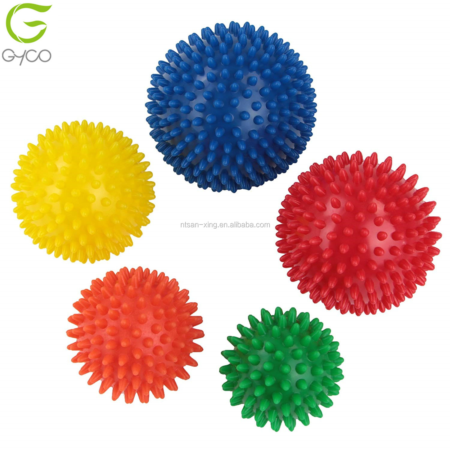 9cm Spikey Massage Ball PVC Grip Ball