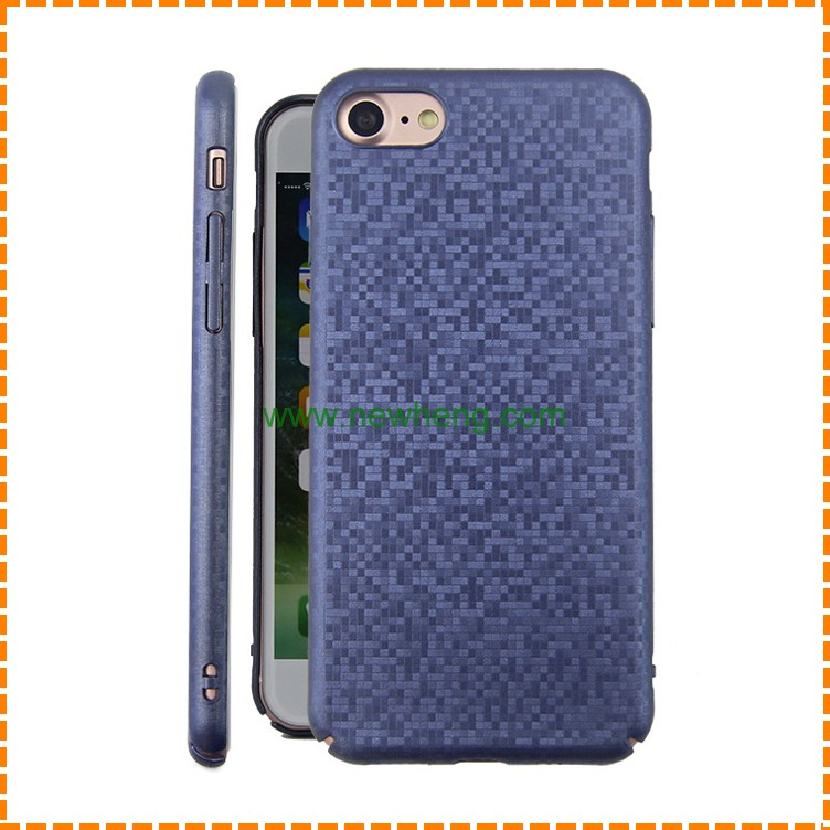 New design high quality Carbon fiber TPU Case For iphone 7 plus