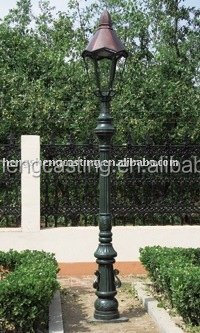 Cast Iron Decorative Yard Light Pole Manufacturer Of Lamp Post China Supplier Of Cast