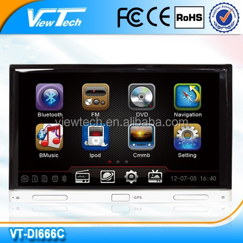 2014 best sale 7-inch double din auto radio