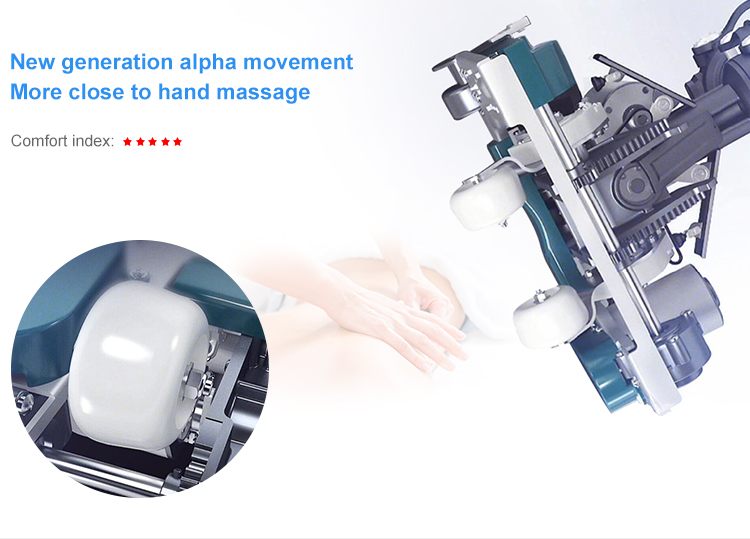 Deluxe Massage Chair Airbag Electric Lift Chair Recliner Chair