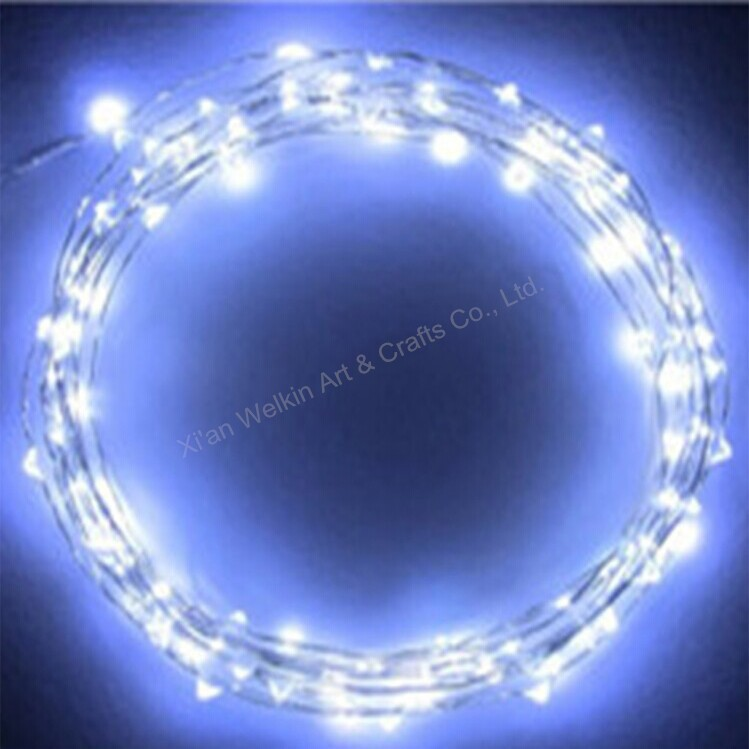 Flower fairy shorten led christmas lights with cheap price