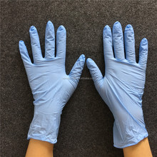 CE,ISO approved disposable powder free nitrile gloves for medical, food and medical use