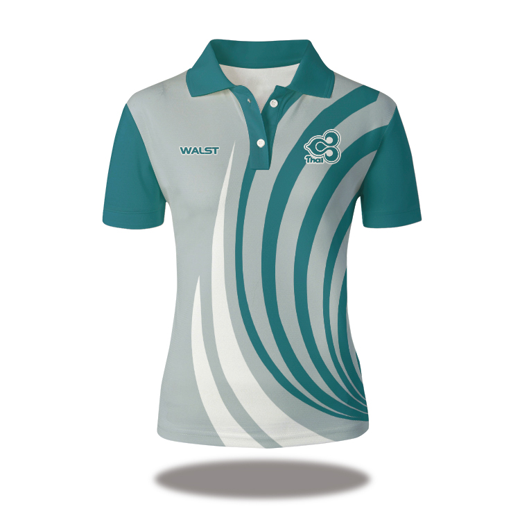 Customise Custom Printed Rugby Team Polo Shirts For