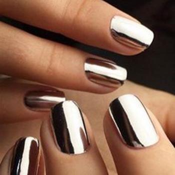 metallic naglar pulver