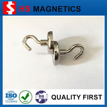 Wall mounted rare earth magnetic hook with low price