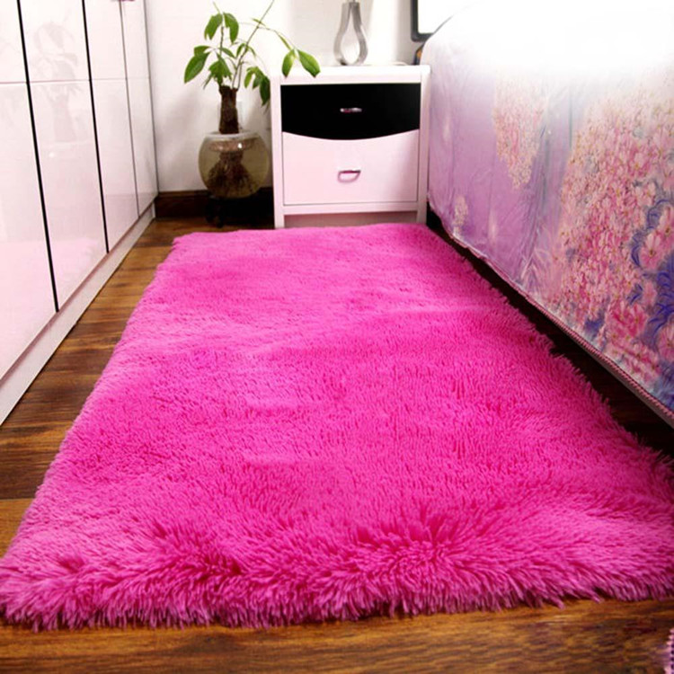 New fashioned shaggy fur rugs and carpets