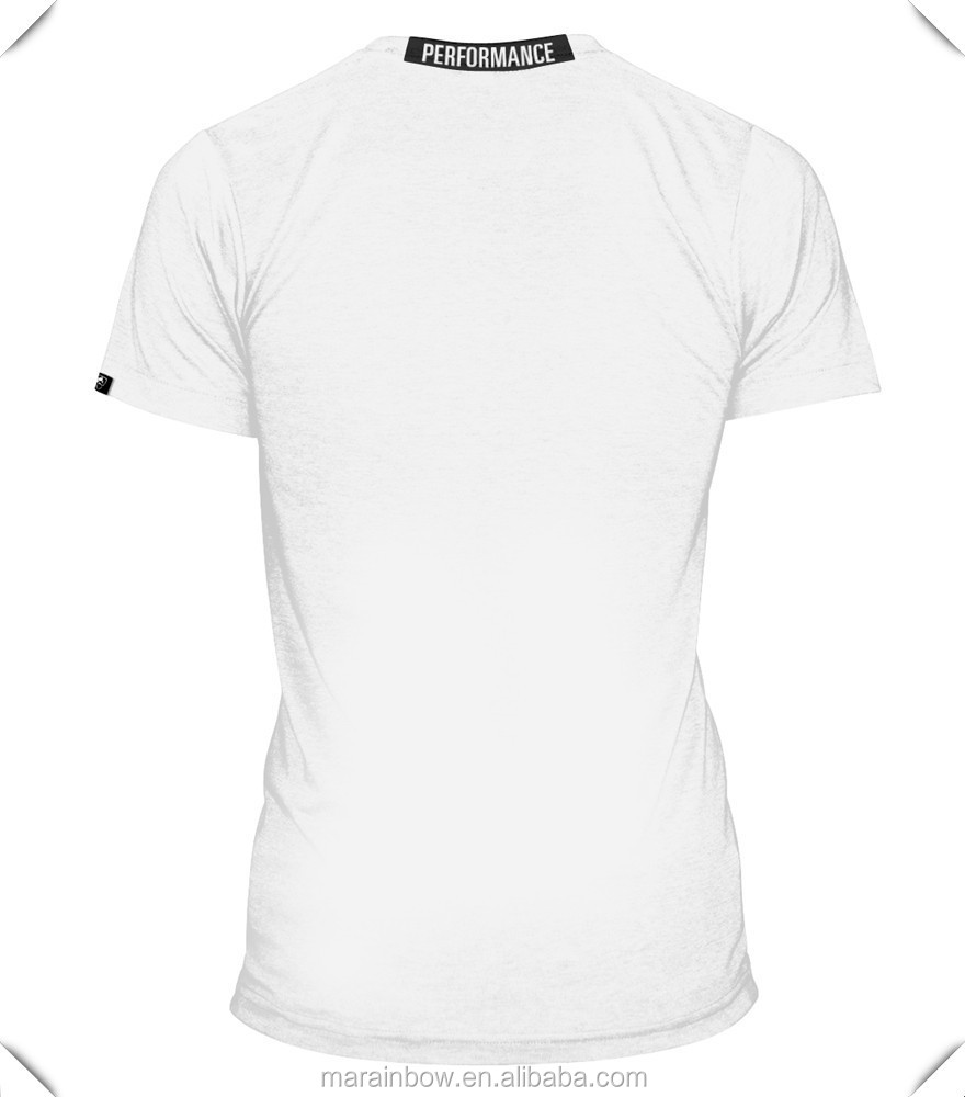 b2309a4d86a Cotton Spandex White Plain Mens Raglan Sleeve T Shirts Muscle Bodybuilding  Gym T Shirt Mens Fitted