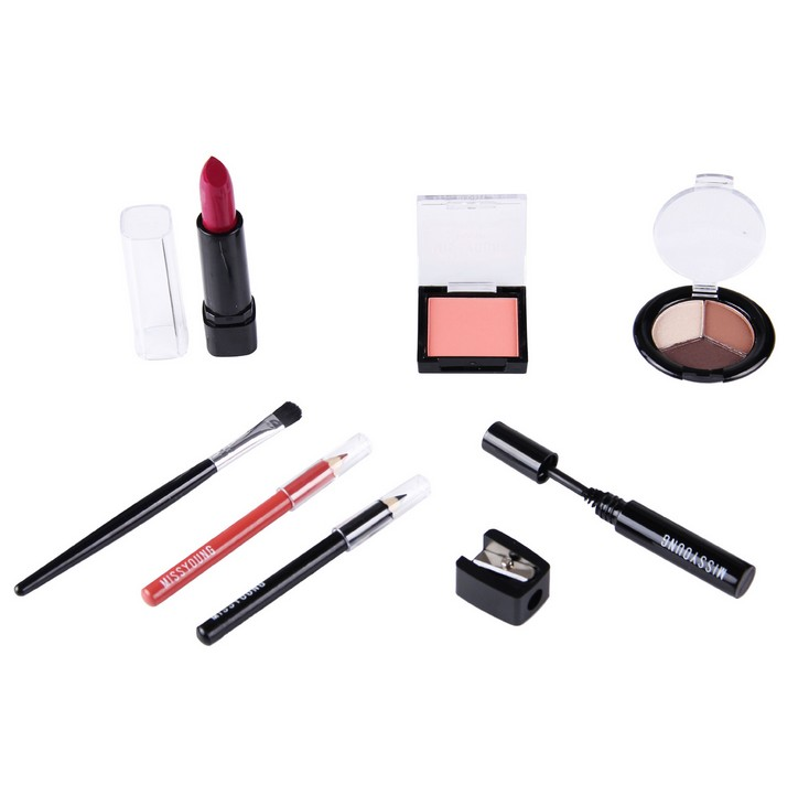 Private label kosmetik alle in einem machen up kit schönheit kosmetik frauen make-up set