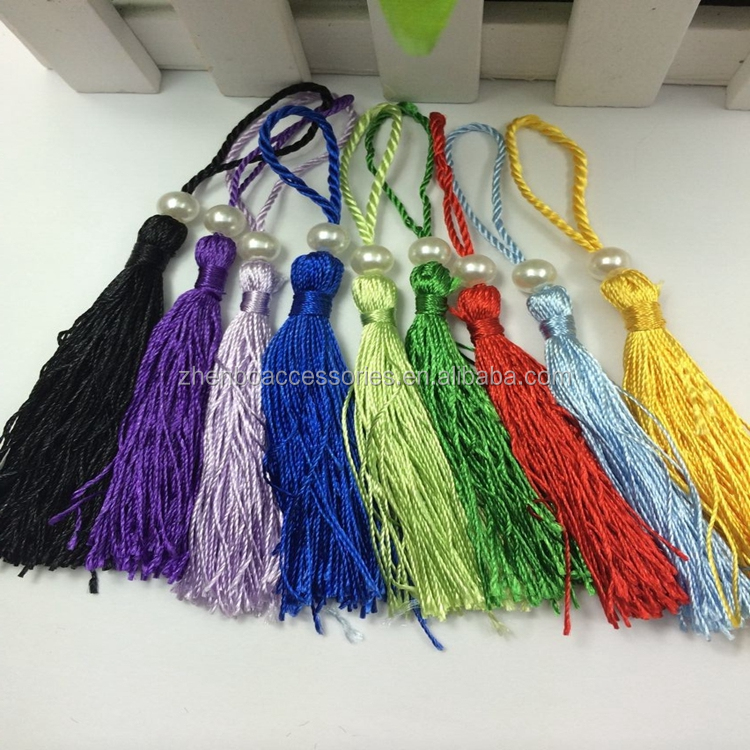 Zhenbo wholesale stock color beaded tassel decorative
