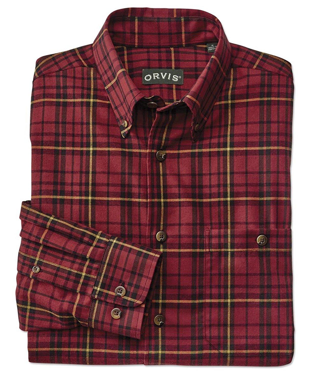 578b31fd84 Get Quotations · Orvis Luxury Cotton Merino Tartan Long-Sleeved Shirt/Luxury  Cotton & Merino Tartan Long