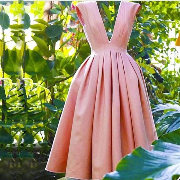 Coral Short Bridesmaid Dresses Wedding Dress For Girls