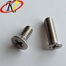 Chinese Fastener Manufacture Flat Head Machine Furniture Screws for Office Chair
