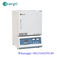 CE certified High Temperature Heating Equipment 1000 1200 Degree Electric Resistance Box type Laboratory Small Muffle Kiln