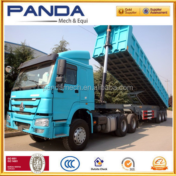 PANDA 3 Axles 40t 50t Tipper Truck Semi Trailer For Sale UAE