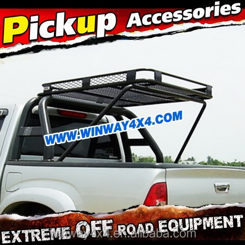 Steel Roof Rack With Roll Bar For Hilux Vigo 2005-2011