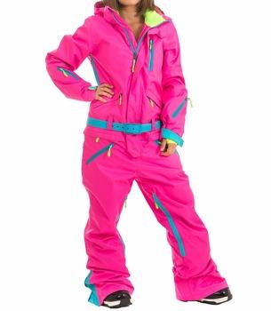0dd383e7c606 Высокое качество для женщин Лыжный Снег комбинезоны для одна деталь сноуборд  костюмы