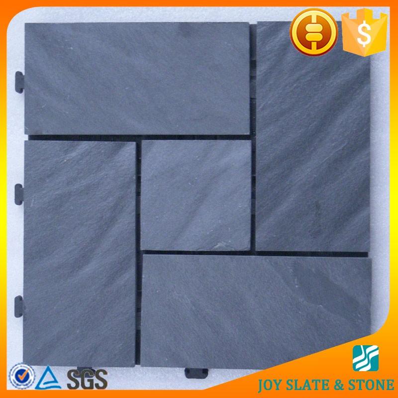 China fabriek slate grijpende mat stoep tegel product id 60414868442 - Mat tegels ...