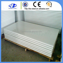 Wholesale low price eps sandwich wall panel/polystyrene foam wall sandwich panel for prefab