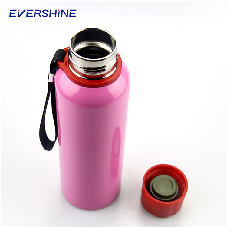 2017 Hot double wall FDA grade stainless steel novelty hot water bottle