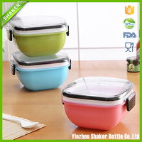 Easy Lock Food Container 2 Layer Lunch Box Bento lunch box food container BPA-Free