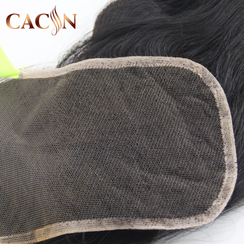8a body wave 100%peruvian virgin hair 38 mm lace closure