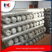 Double twist galvanized hexagonal wire mesh rolls for rabbit